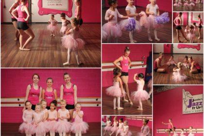 pre ballet dance class at jennifers jazz it up studio of dance in port hope ontario