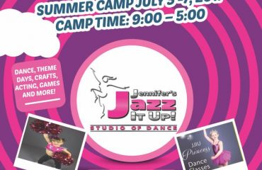 summer dance camp and classes at JJIU in port hope