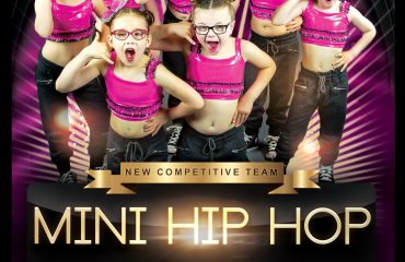 competitive hip hop dance team at JJIU dance studio in port hope