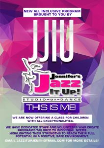 Jennifers Jazz It Up Dance Studio special needs and abilities class