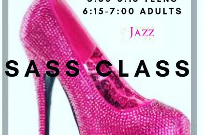 sass heels dance class in port hope