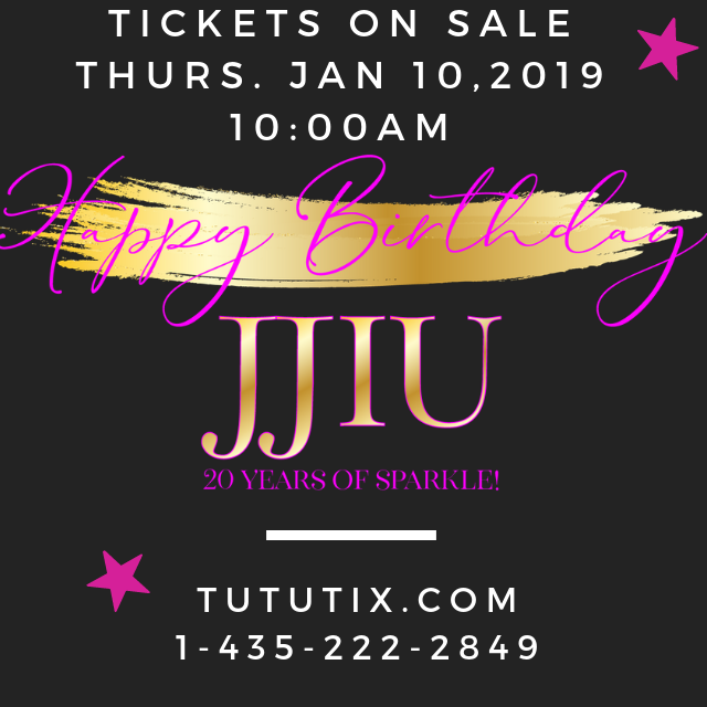 JJIU 2019 Dance recital ticket information for Port Hope show