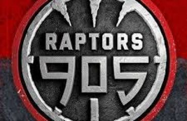 jjiu dancers perform for the Raptors 905 half time show