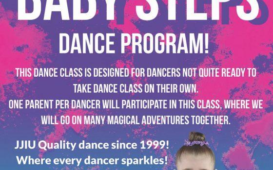 Baby Steps Dance Program