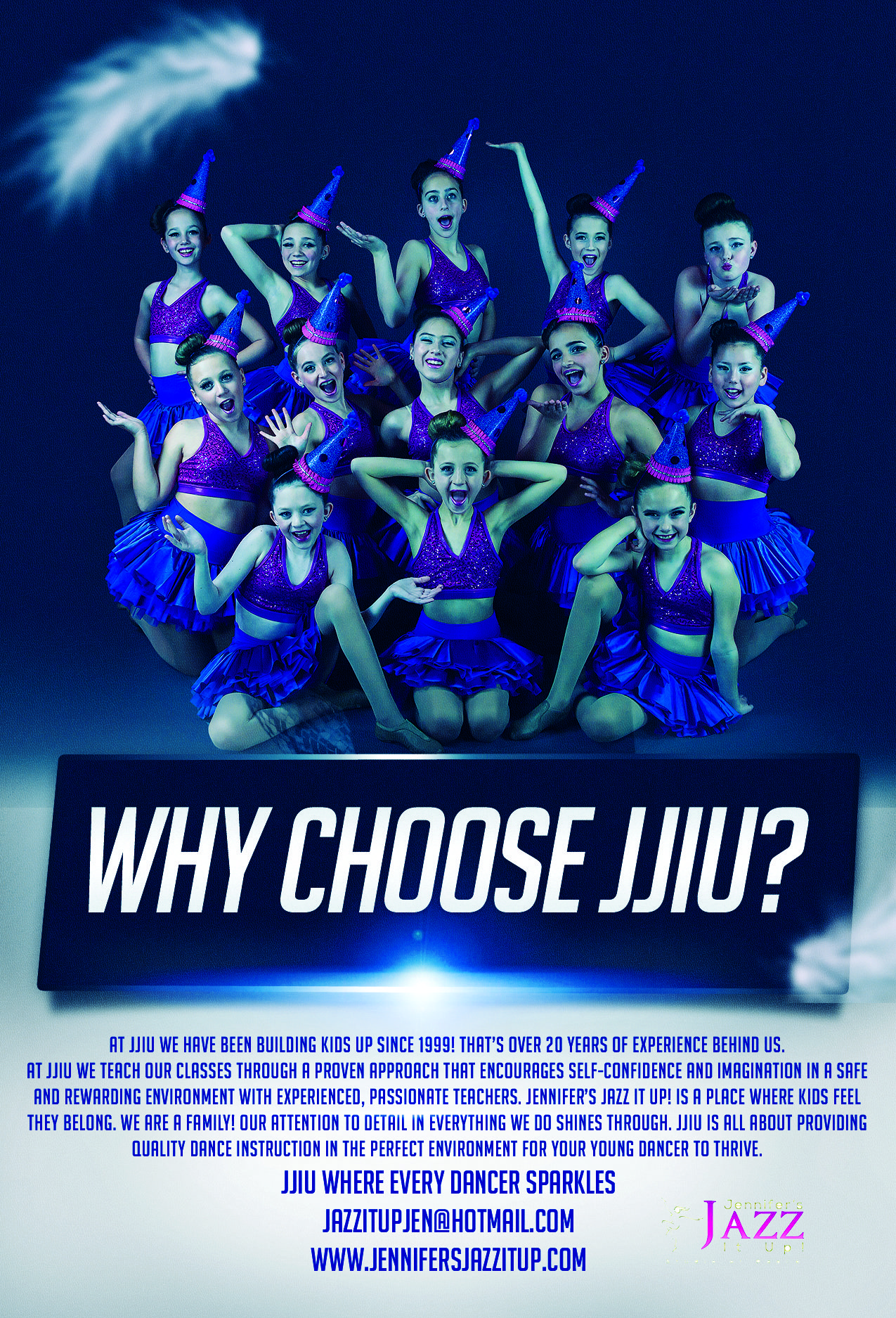 why choose jjiu dance studio