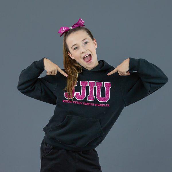 jjiu pink sparkle sweater