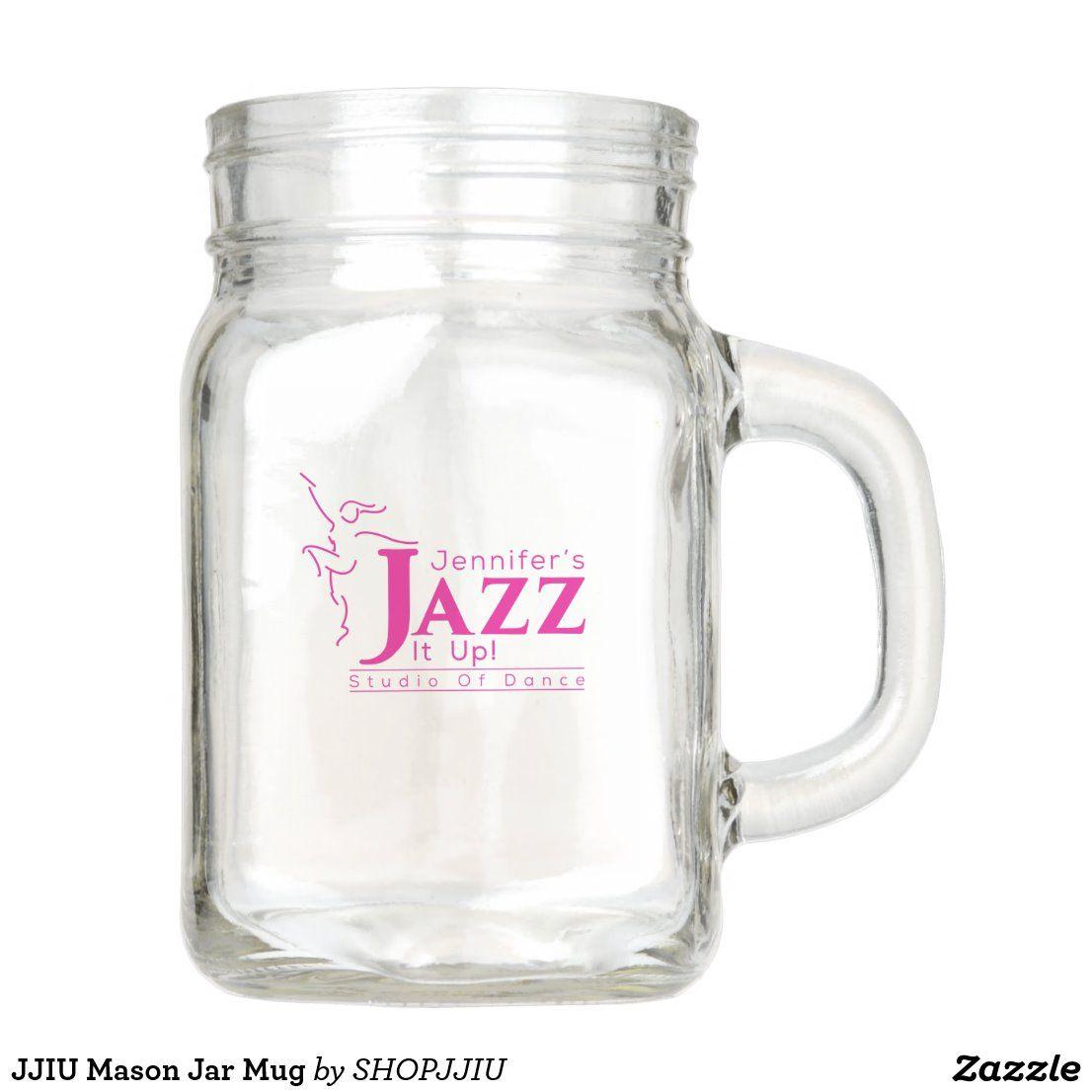 JJIU Mason jar mug