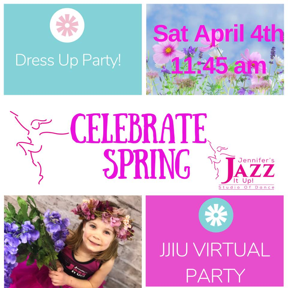 Jennifer's Jazz It Up Spring Dress Up Party