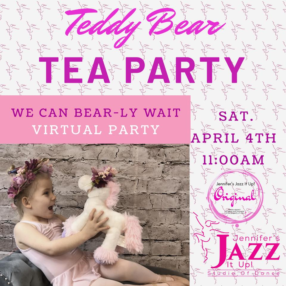 Jennifer's Jazz It Up Teddy Bear Tea Party