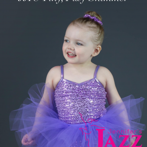 cute ballerina wearing purple tutu who dances at jennifer's jazz it up in port hope and Cobourg