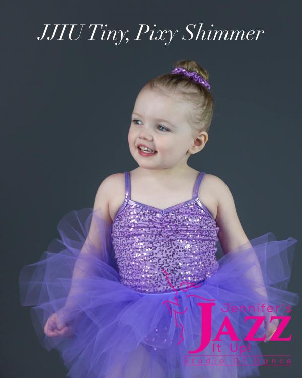 cute ballerina wearing purple tutu who dances at jennifer's jazz it up in port hope and Cobourg