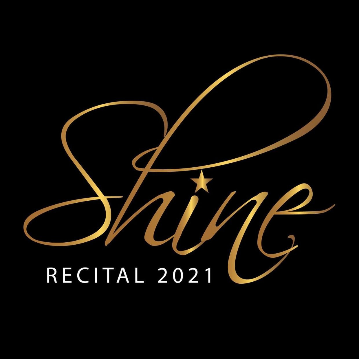 Jennifer's Jazz It Up 2021 recital theme logo