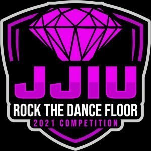 JJIU Rock the Dance Floor dance competition logo