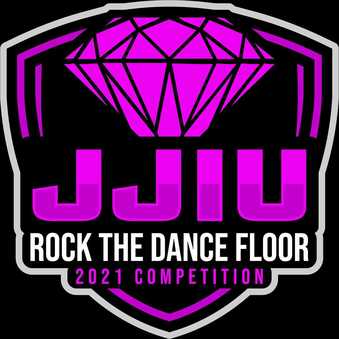 JJIU Rock the Dance Floor dance competition logo